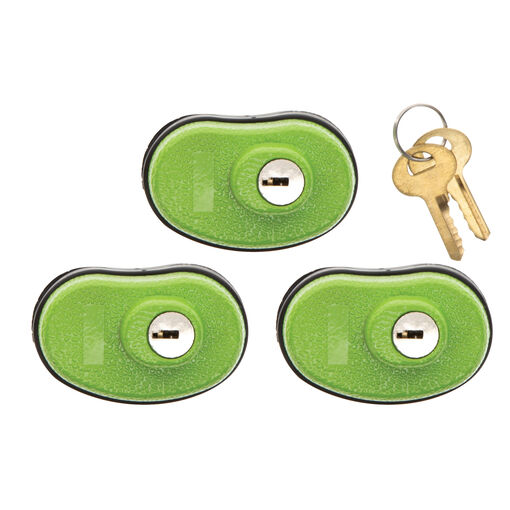 Keyed Trigger Lock, 3 Pack