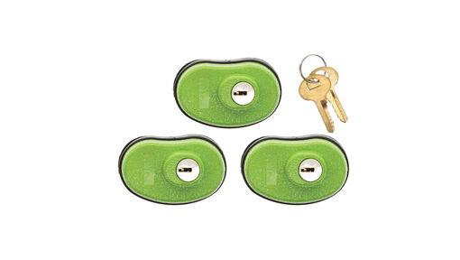 Keyed Trigger Lock, 3 Pack
