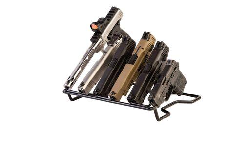 Handgun Rack - Barrel Down