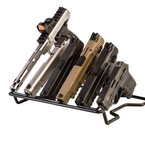 Handgun Rack - Barrel Down