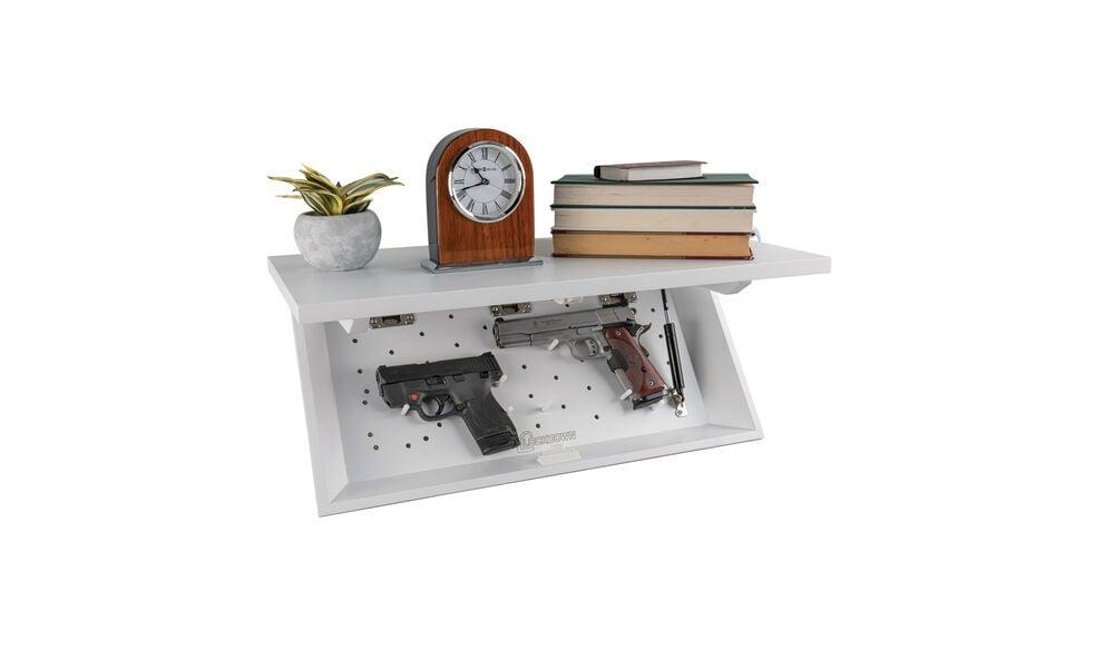 In Plain Sight Shelf White