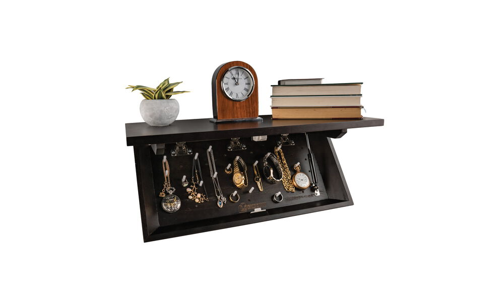 In Plain Sight Shelf Dark Walnut
